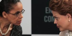 Marina Silva, Dilma Rousseff