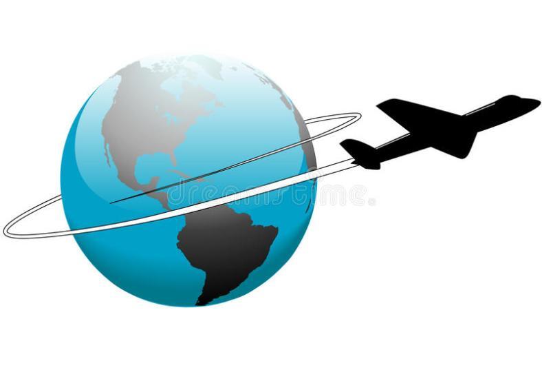 curso-da-linha-aérea-em-torno-do-avião-da-terra-do-mundo-10405828